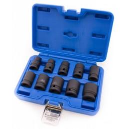 """Os torquímetros vidro jogo 10 de impacto curto 1/2"""""""