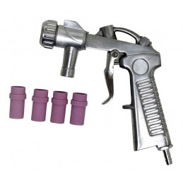 kit Pistola de Chorro + 4 Boquillas