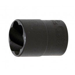 "Chave de vidro hood na bobina 1 / 2 "", 17 mm."