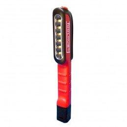 Lampara 6 LED + 1 superior tipo boligrafo