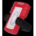 Lâmpada recarregável 4 + 1 SMD LED