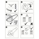 Herramienta de montaje para correas flexibles, Citroen, Fiat, Ford, Mitsubishi, Peugeot BGS-9157