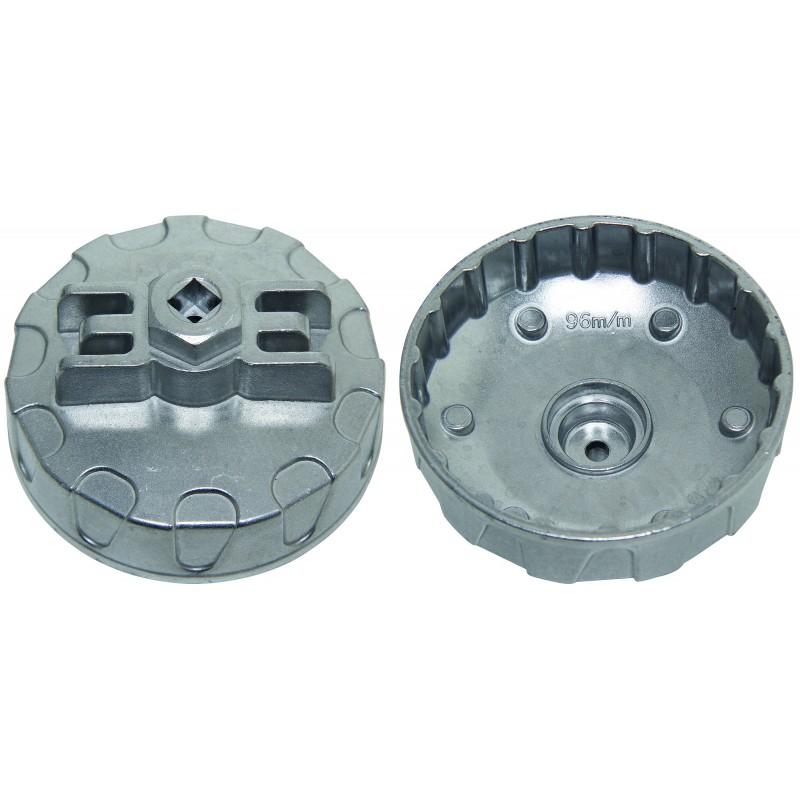 Llave para filtro de aceite 96 mm x P18 para Renault DCI BGS-9163