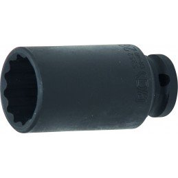 """Llave vaso para tornillo de buje 1/2"""" 28 mm. 12 caras BGS-5352"""