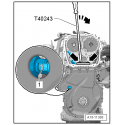 Palanca del tensor de la cadena de distribución VAG 1.8 & 2.0 TFSI BGS-9272