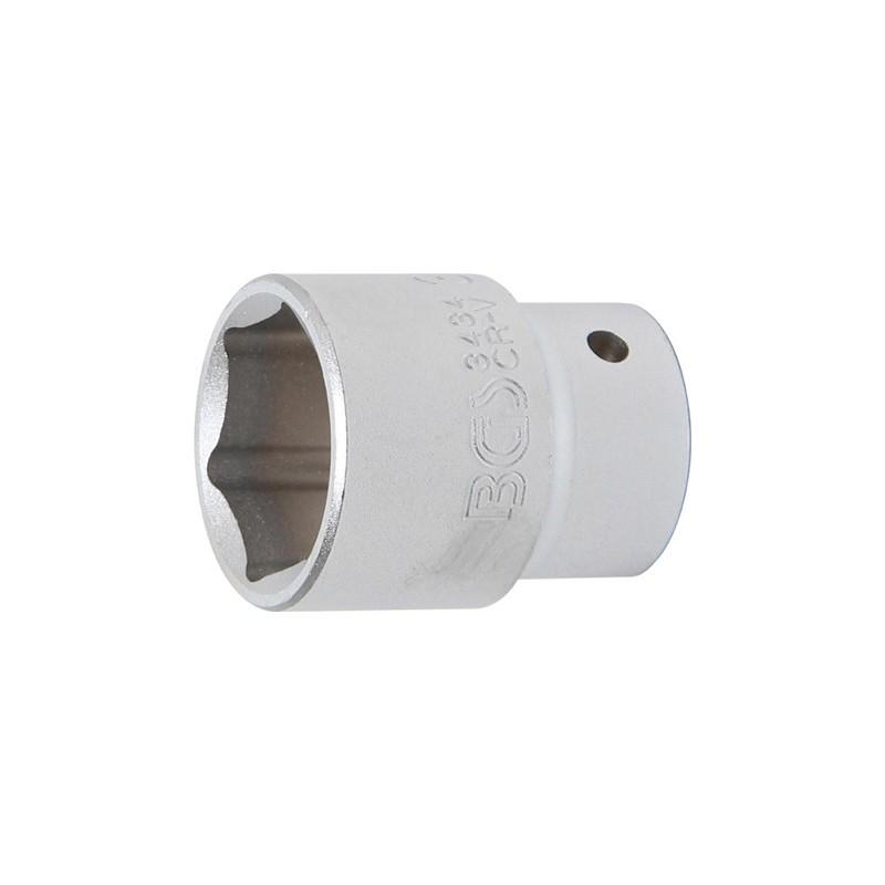 | 55 mm entrada 25 mm 1 BGS 3755 Llave de vaso hexagonal