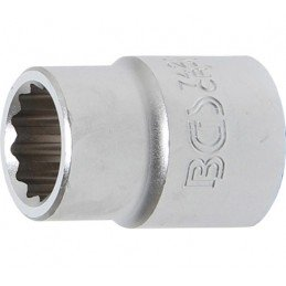 """Llave de vaso Pro-Torque ® 12 caras  3/4"""" 21 mm BGS-7421"""