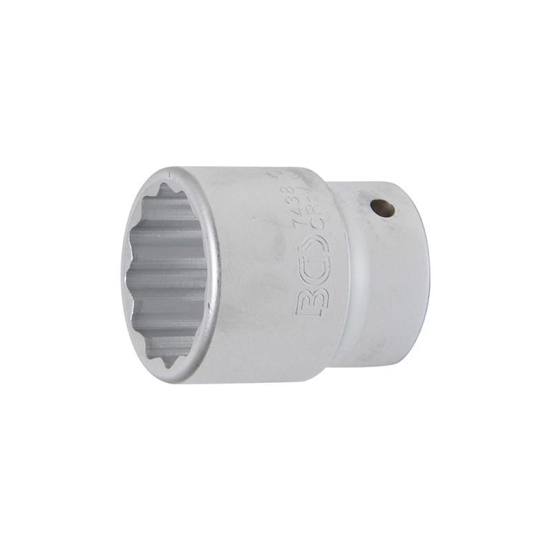 """Llave de vaso Pro-Torque ® 12 caras 3/4"""" 38 mm BGS-7438"""