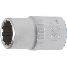 """Llave de vaso corto Pro-Torque ® 12 caras  1/2"""" 14 mm BGS-10634"""