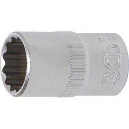 """Llave de vaso corto Pro-Torque ® 12 caras  1/2"""" 16 mm BGS-10636"""