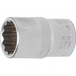 """Llave de vaso corto Pro-Torque ® 12 caras  1/2"""" 17 mm BGS_10637"""