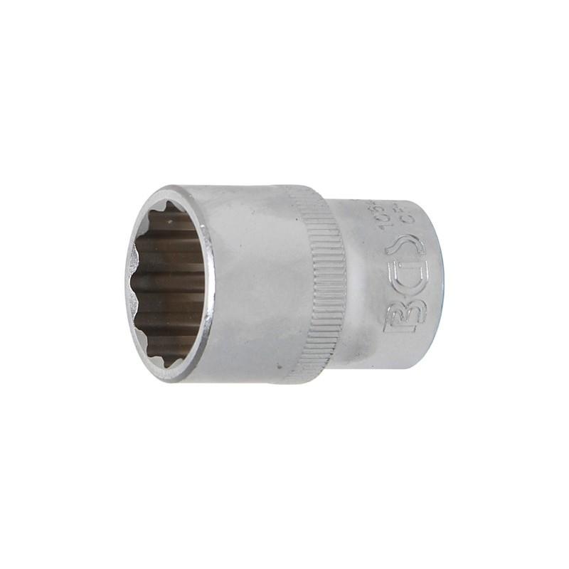 """Llave de vaso corto Pro-Torque ® 12 caras  1/2"""" 20 mm BGS-10640"""