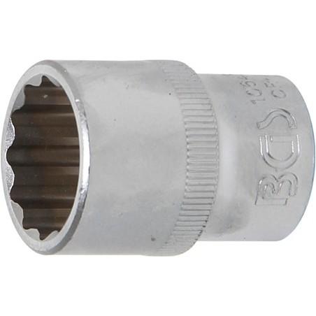 """Llave de vaso corto Pro-Torque ® 12 caras  1/2"""" 20 mm"""