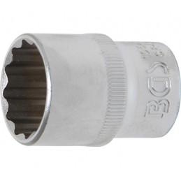 """Llave de vaso corto Pro-Torque ® 12 caras  1/2"""" 21 mm BGS-10641"""