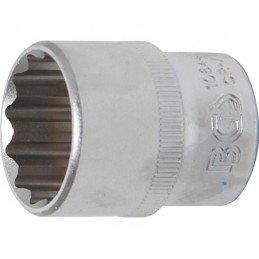 """Llave de vaso corto Pro-Torque ® 12 caras  1/2"""" 24 mm BGS-10644"""