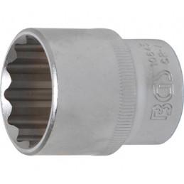 """Llave de vaso corto Pro-Torque ® 12 caras  1/2"""" 27 mm BGS-10645"""