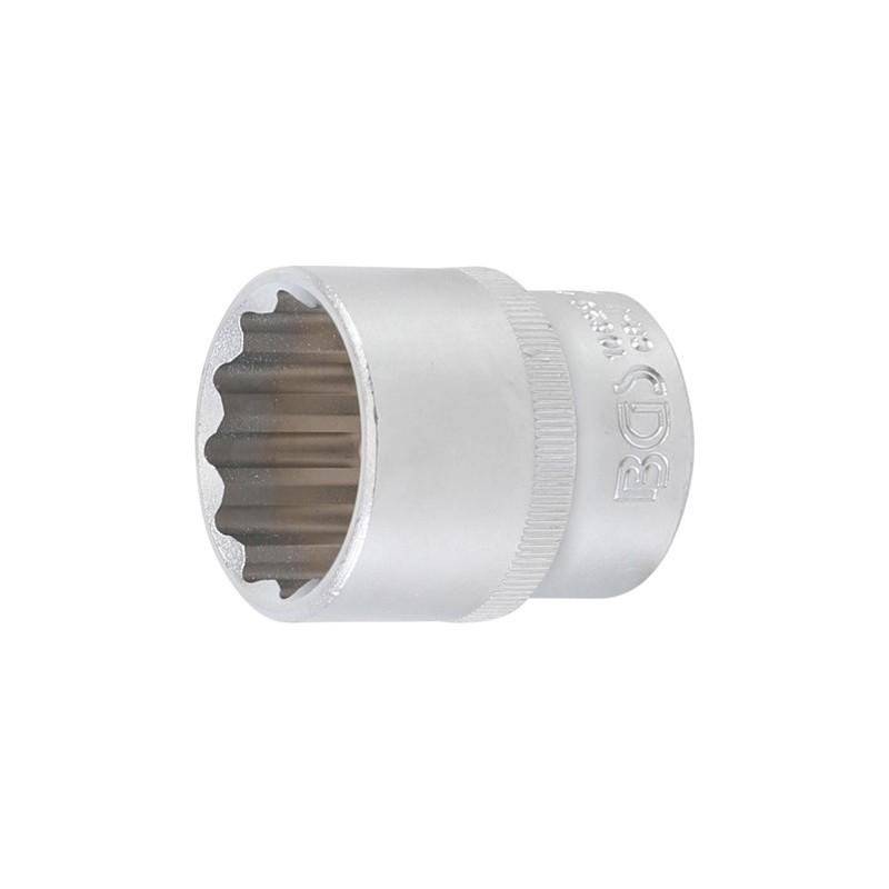 """Llave de vaso corto Pro-Torque ® 12 caras 1/2"""" 28 mm BGS-10625"""