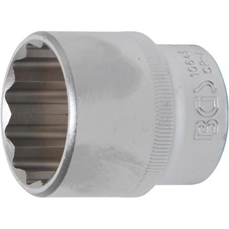 """Llave de vaso corto Pro-Torque ® 12 caras  1/2"""" 30 mm"""