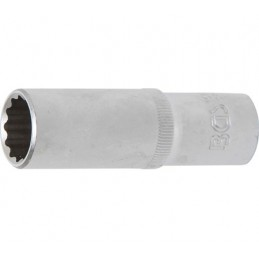 """Llave de vaso largo Pro-Torque ® 12 caras  1/2"""" 17 mm BGS-10684"""