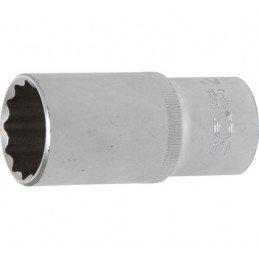 """Llave de vaso largo Pro-Torque ® 12 caras  1/2"""" 27 mm BGS-9363"""