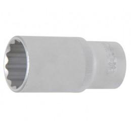"""Llave de vaso largo Pro-Torque ® 12 caras 1/2"""" 28 mm"""