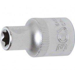 """Llaves de vaso 1/2"""" corto T-Star (Torx) E10 BGS-6460"""