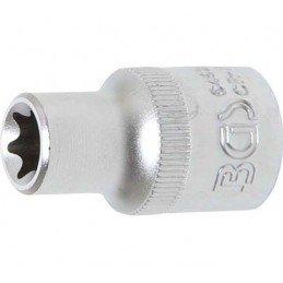 """Llave de vaso 1/2"""" corto  T-Star (Torx) E12 BGS-6462"""