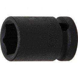 """Llave vaso de impacto 1/2"""" hexagonal corto 17mm. BGS-5217"""