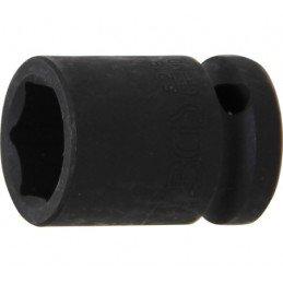 """Llave vaso de impacto 1/2"""" hexagonal corto 18mm. BGS-5218"""