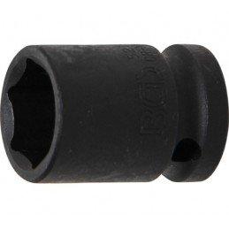 """Llave vaso de impacto 1/2"""" hexagonal corto 19mm. BGS-5219"""