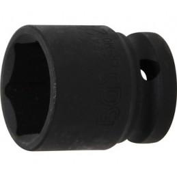 """Llave vaso de impacto 1/2"""" hexagonal corto 24mm. BGS-5224"""