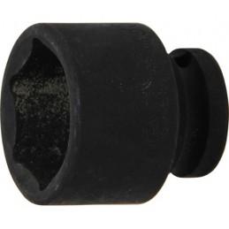"""Llave vaso de impacto 1/2"""" hexagonal corto 30mm. BGS-5230"""
