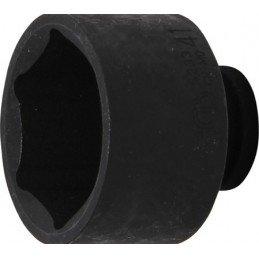 """Llave vaso de impacto 1/2"""" hexagonal corto 41mm. BGS-5233"""