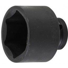 """Llave vaso de impacto 1/2"""" hexagonal corto 38mm."""