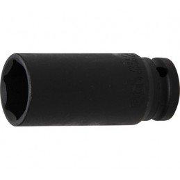 """Llave vaso de impacto 1/2"""" hexagonal largo 24mm. BGS-7224"""