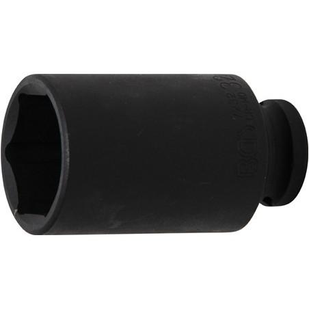 """Llave vaso de impacto 1/2"""" hexagonal largo 32mm."""