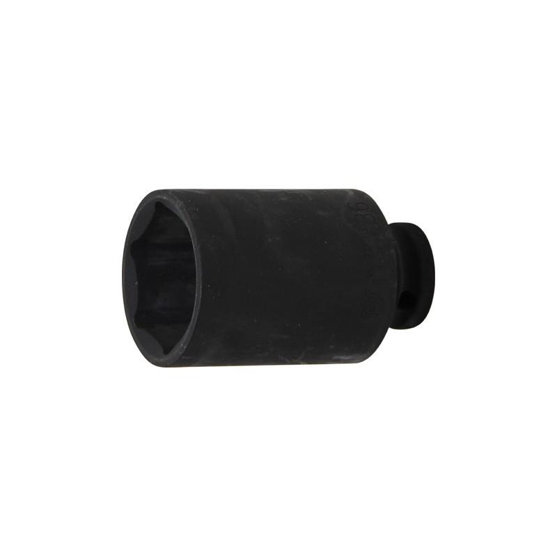 """Llave vaso de impacto 1/2"""" hexagonal largo 36mm. BGS-7236"""