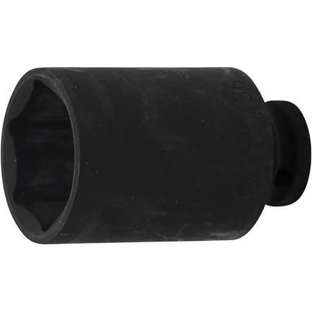 """Llave vaso de impacto 1/2"""" hexagonal largo 36mm."""