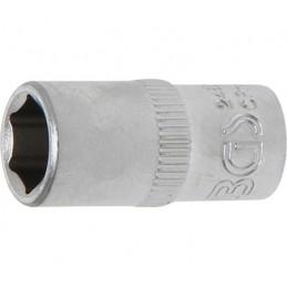 """Llave de vaso corto 1/4"""" 6 caras Pro Torque® 8mm."""