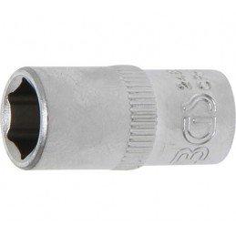 """Llave de vaso corto 1/4"""" 6 caras Pro Torque® 8mm. BGS-2480"""