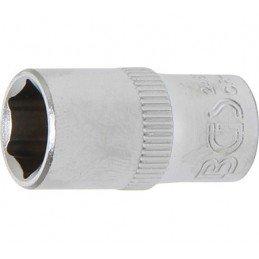 """Llave de vaso corto 1/4"""" 6 caras Pro Torque® 9mm. BGS-2481"""
