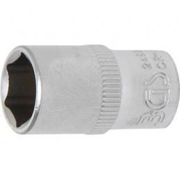 """Llave de vaso corto 1/4"""" 6 caras Pro Torque® 10mm."""
