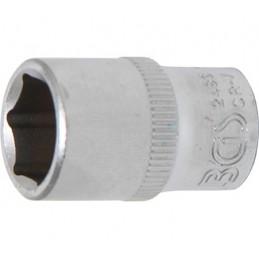 """Llave de vaso corto 1/4"""" 6 caras Pro Torque® 11mm. BGS-2483"""