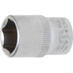 """Llave de vaso corto 1/4"""" 6 caras Pro Torque® 12mm. BGS-2484"""