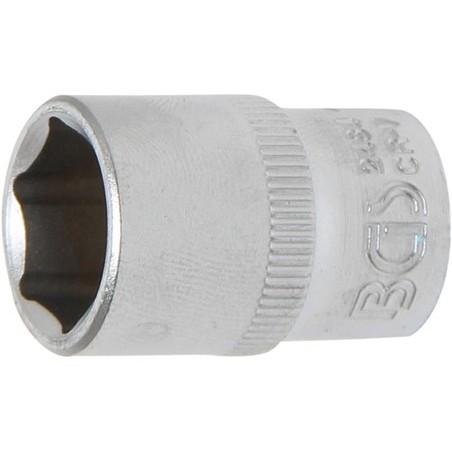 """Llave de vaso corto 1/4"""" 6 caras Pro Torque® 12mm."""