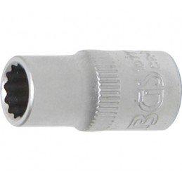 """Llave de vaso corto 1/4"""" 12 caras 7 mm. BGS-10777"""