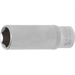 """Llaves de vaso largo 1/4"""" 6 caras Pro Torque® 12 mm. BGS-10512"""