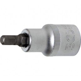 """Llave de vaso 1/2"""" con punta Allen Largo 53mm. 6mm. BGS-4252"""