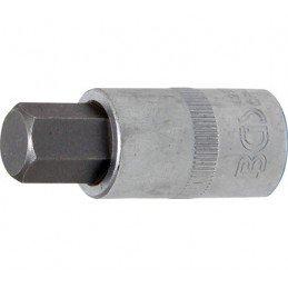 """Llave de vaso 1/2"""" con punta Allen Largo 53mm. 14mm. BGS-4257"""