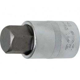 """Llave de vaso 1/2"""" con punta Allen Largo 53mm. 19mm."""